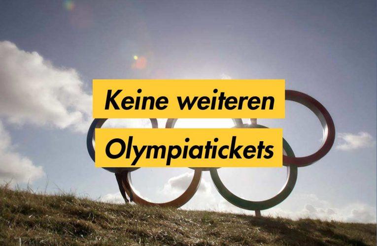 Olympia Restquote – Keine weiteren Tickets für Österreich