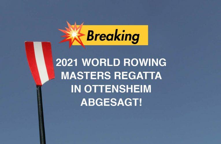 Absage Masters Regatta  Ottensheim