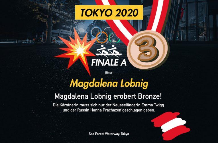 Bronze für Magdalena Lobnig!