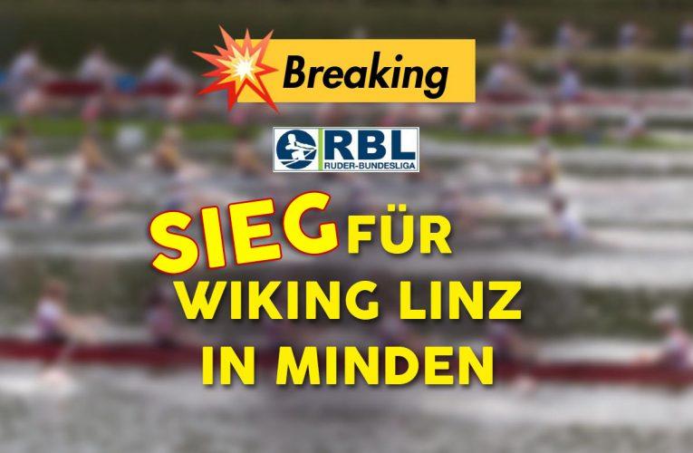 Sieg für Wiking Linz in Minden