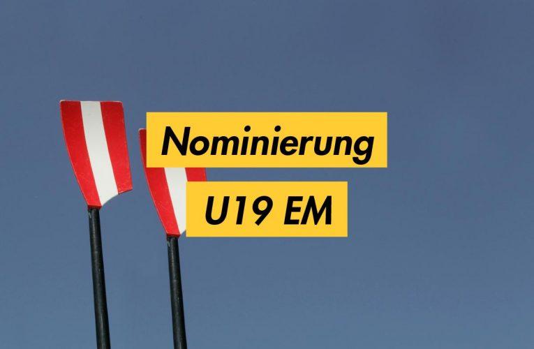 Nominierungen U19 EM / München