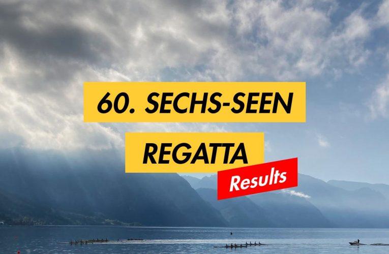 Results: 60. Sechs-Seen-Regatta